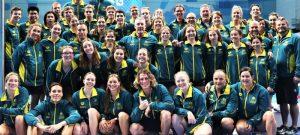 Australian Junior Swimming Team